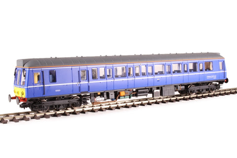 Class 121 single car DMU 'Bubblecar' 121020 in Chiltern Railways blue - Hatton's limited edition