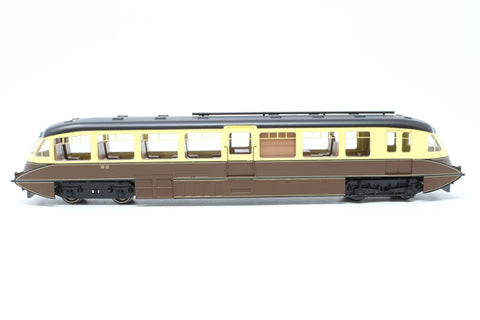 Streamlined railcar W10 in BR lined chocolate & cream - Pre-owned - Like new