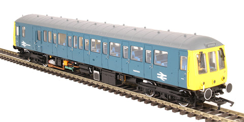 "Class 122 Gloucester RCW ""Bubblecar"" single car DMU TDB975023 in Route Learning BR blue - Hatton's limited edition"