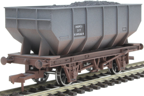 21 ton mineral hopper E2894546 in BR grey - weathered