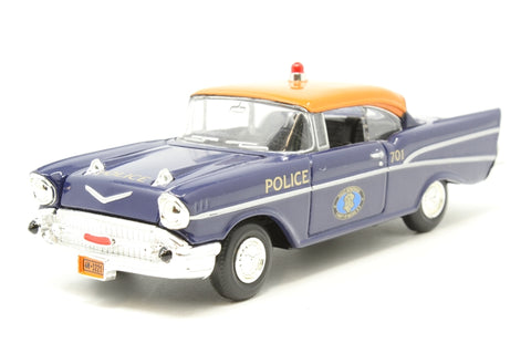 Chevrolet Police Car - 'Nassau County' - Pre-owned - small scratch on windscreen, slightly loose roof, replacement box