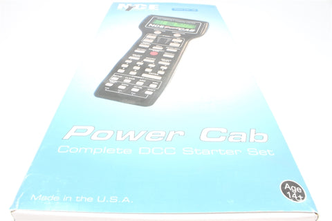 NCE Power Cab 2 Amp Digital DCC controller - Pre-owned - Like New - Factory Sealed inner packaging - Good Box