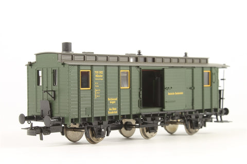 Boiler Wagon with Smoke Generator of the DB, Epoch III - Pre-owned - Like new