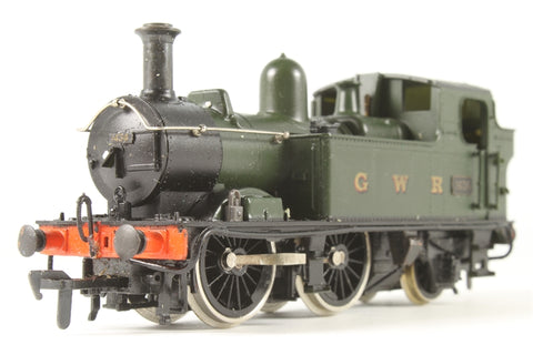 Class 14xx 0-4-2T 1434 0-4-2 tank in GWR green - Pre-owned - renumbered - replacement box