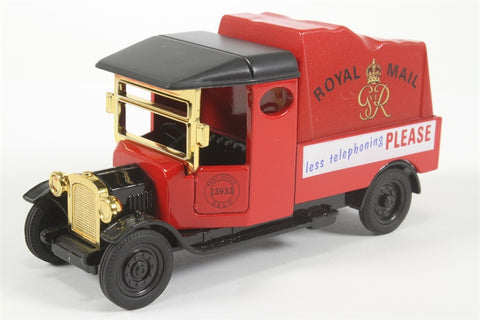 Royal Mail Motoring Memories Van - 'Less Telephoning PLEASE' - Pre-owned - Like new