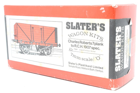 Charles Roberts 7 Plank PO with side and end door - Pre-owned - Kit Built - Painted - Coal Load Added - Imperfect Box