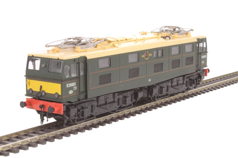 Class 76 EM1 Woodhead electric E26051 in BR green with half yellow panels - Limited Edition for Olivias Trains