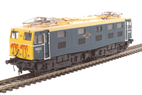Class 76 EM1 Woodhead electric 76022 in BR blue with multiple working cables - Limited Edition for Olivias Trains