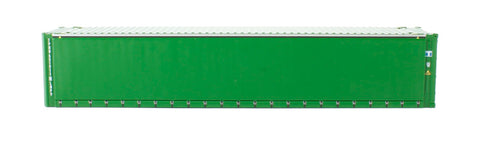 45' container in plain green livery