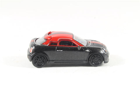 BMW Mini in Midnight black & red