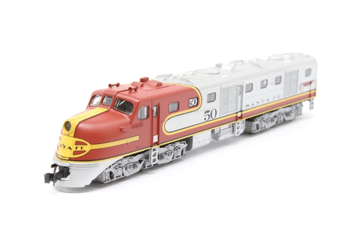 Alco DL-109 #50 of the Santa Fe Railroad - Pre-owned - Like new
