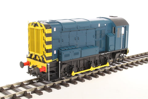 Class 08 shunter in BR blue (without ladder) - unnumbered