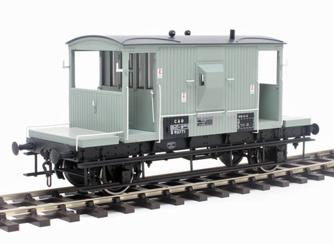 20-ton standard brake van CAO B951771 in BR grey