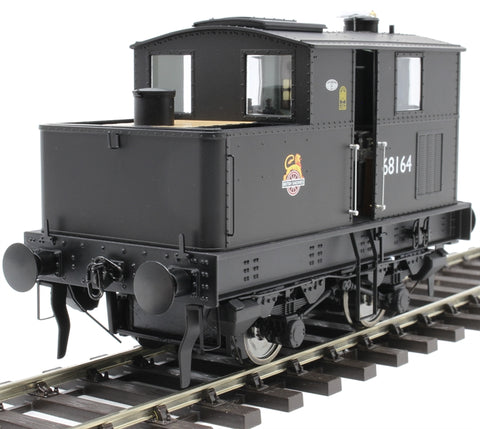 Class Y3 Sentinel 4wVB 68164 in BR black with early emblem