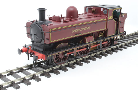 Class 57xx 0-6-0PT pannier L92 in London Transport maroon - DCC sound fitted