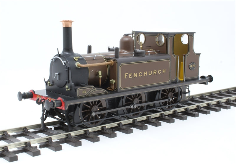 "Class A1 'Terrier' 0-6-0T 672 ""Fenchurch"" in LBSCR marsh brown - DCC fitted"