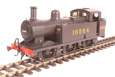 Class 3F 'Jinty' 0-6-0T 16564 in early LMS black
