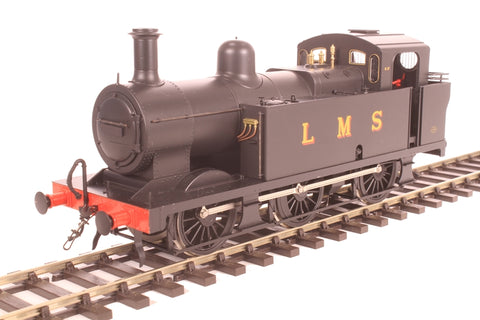 Class 3F 'Jinty' 0-6-0T in late LMS black - unnumbered