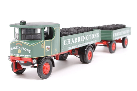 Sentinel Dropside & Trailer - 'Charringtons' - Pre-owned - Like new, imperfect box