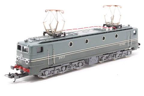 CC7140 Electric Locomotive of the SNCF - Pre-owned - missig roof detail, imperfect box