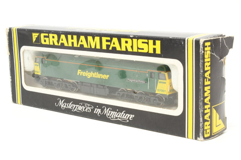 Class 57 57001 'Freightliner Pioneer' in Freightliner Green - Pre-owned - loose body - imperfect box