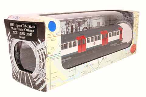 "1959 Tube Stock motor trailer car - London Underground ""Northern Line"""