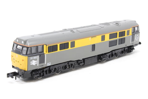Class 31 31552 in BR 'Dutch' Yellow & Grey - Pre-owned - Like new