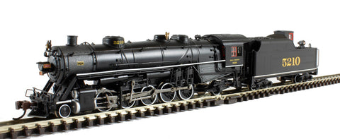 USRA Light 2-10-2 Steam Locomotive Southern #5210