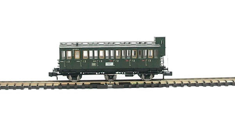 2nd class compartment coach with brakeman's cab of the DB