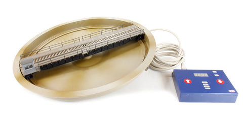 27.4 metre (90ft) Motorised turntable - ready for installation. For HO/OO scales. DCC ready