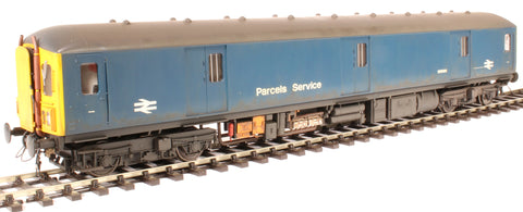 Class 128 parcels DMU W55991 in BR blue - weathered