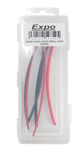 Pack of Small Assorted Diameter Heat Shrink