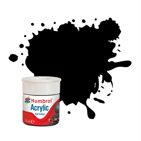 Rail Paint - Dirty Black - RC401 - Acrylic - 14ml
