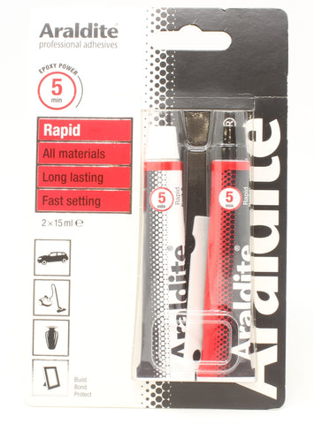 Araldite - Rapid - Sets In Seconds - 30ml Combined