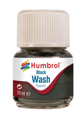 28ml Enamel Wash - Black