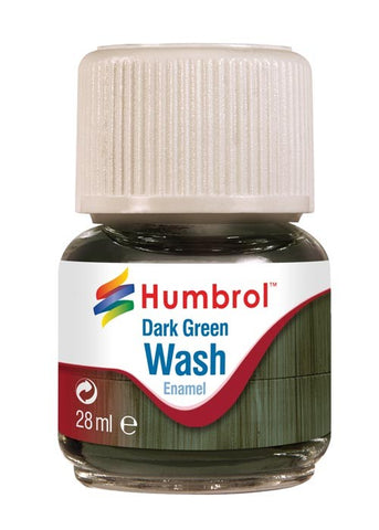 28ml Enamel Wash - Dark Green