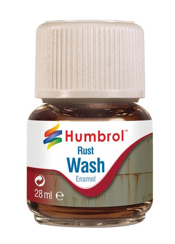 28ml Enamel Wash - Rust
