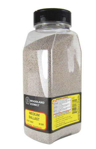 Ballast Shaker - Medium - Light Gray