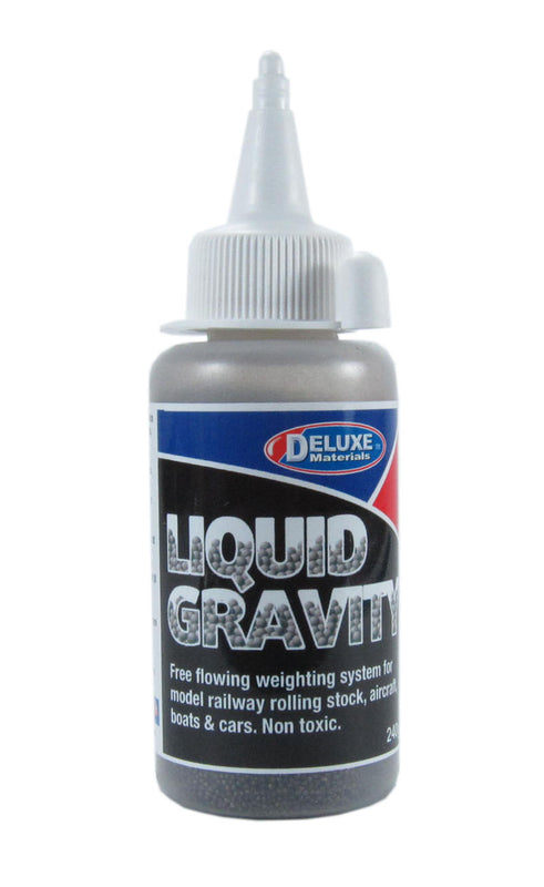 Liquid Gravity - 240g - Easy flowing weighting system for railway rolling stock