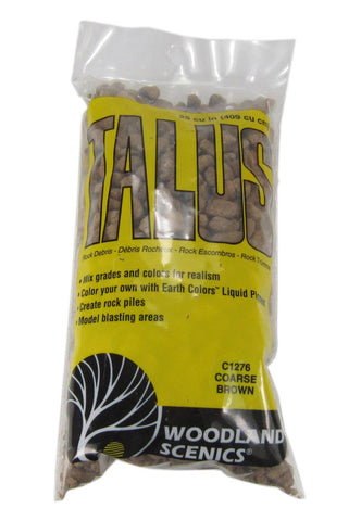 Talus Rock Debris - Coarse - Brown