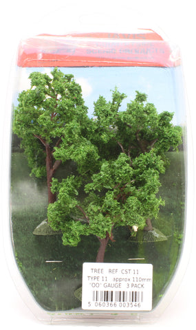 Trees - type 11 - 110mm - pack of three