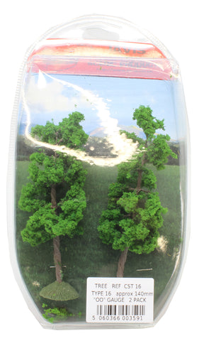 Trees - type 16 - 140mm - pack of 2