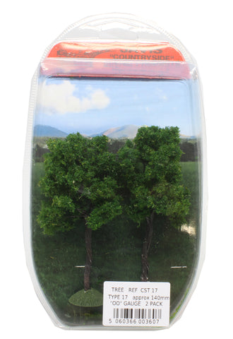 Trees - type 17 - 140mm - pack of 2