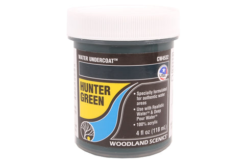 Complete Water system - hunter green water undercoat