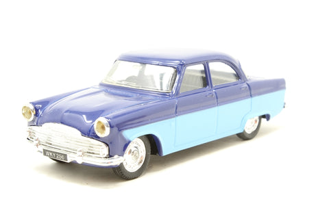 Ford Zodiac Saloon in Two Tone Blue - Pre-owned -  imperfect box