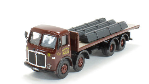 AEC Mammoth Major flatbed with steel bar load - 'Rosser of Pontlliw' (Circa 1957 - 1967)