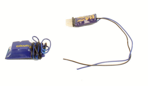 ZEN 6-pin Direct 2-function 1.1A Decoder with Stay Alive (13.5x8.5x3mm)