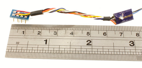 ZEN Nano 8-pin Wired 2-function 1.1A Decoder with Stay Alive (15x7x2.7mm)