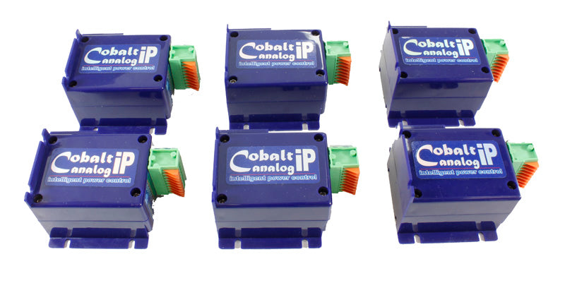 Cobalt ip slow-action analogue point motor - pack of 6