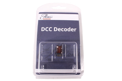 6-pin 2-function 1.1Amp direct plug decoder with back EMF